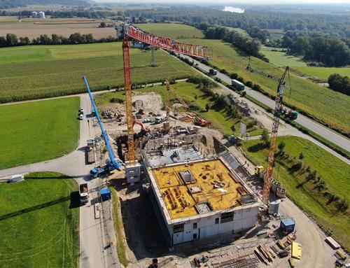 Neubau Antersdorfer Mühle